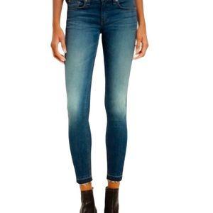 Rag & Bone Ankle Skinny Lily Dale Jeans, Size 29